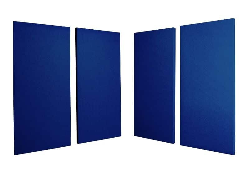 Audimute Fabric Acoustic Panels for a WhisperRoom Isolation Booth