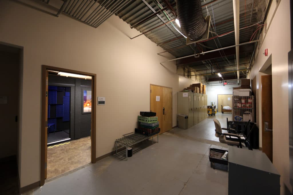 Back corridor hallway at Kennesaw State University