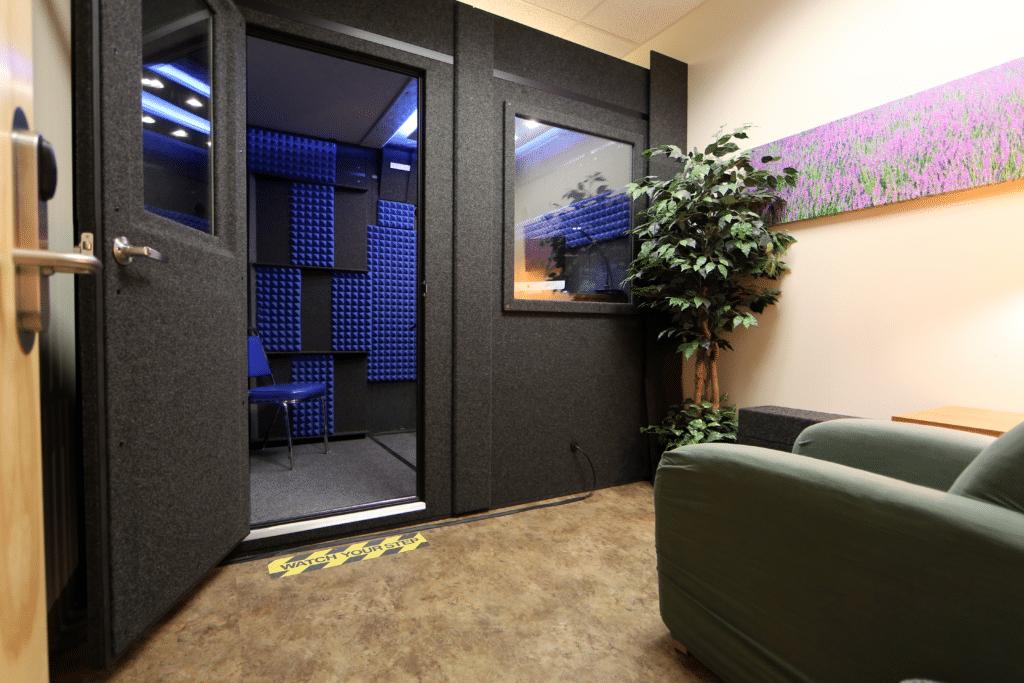 Kennesaw State University's WhisperRoom inside of an office
