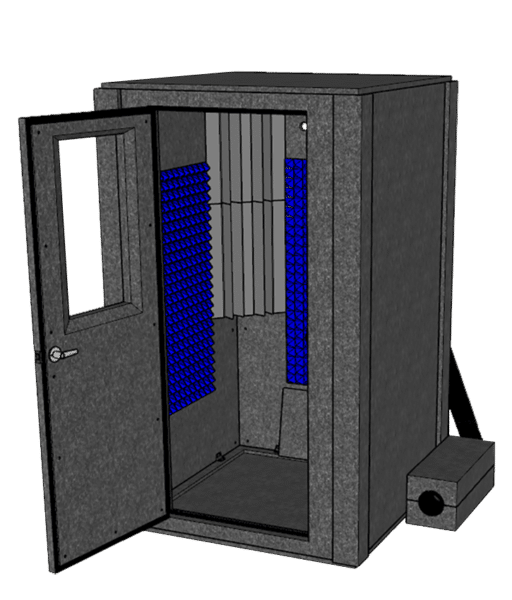 A WhisperRoom Booth of the Voice Over Basic Package