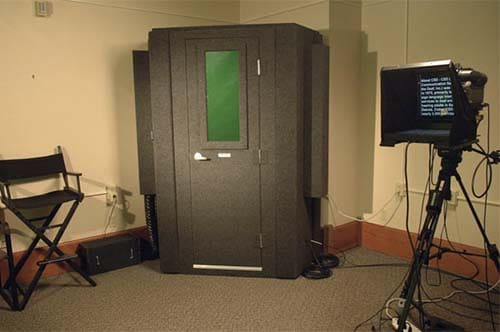 A MDL 127 LP S WhisperRoom at CSD-Television Studio