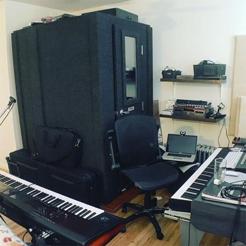 Steve Mecca's WhisperRoom in his home studio