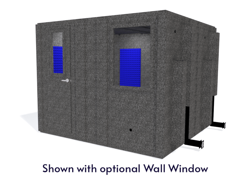 WhisperRoom MDL 102102 S shown with the door closed from the front