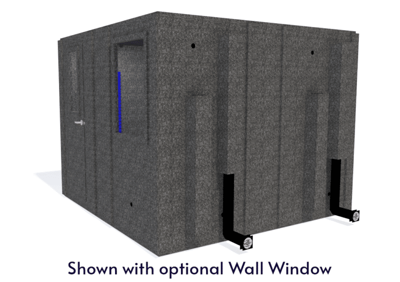WhisperRoom MDL 102102 S shown with the door closed from the side