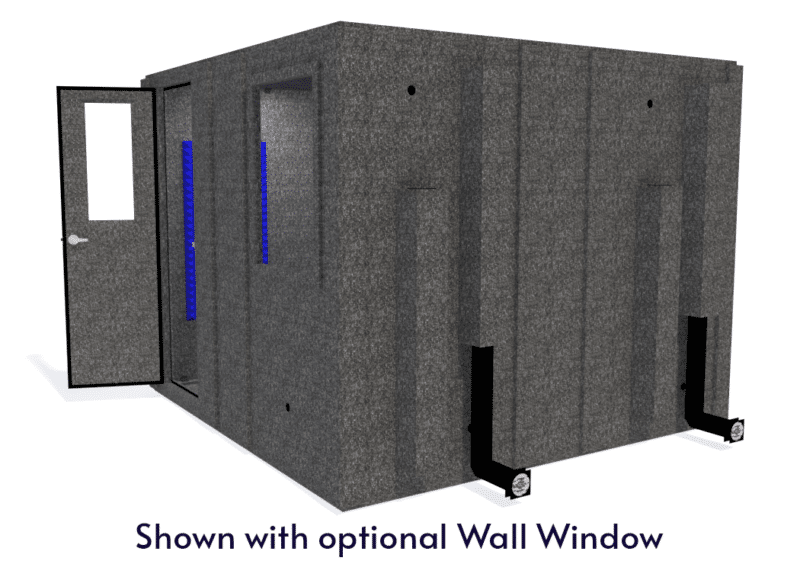 WhisperRoom MDL 102102 S shown with the door open from the side