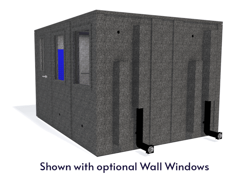 WhisperRoom MDL 102126 E shown with the door closed from the side