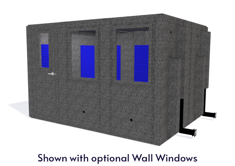 WhisperRoom MDL 102126 S shown with the door closed from the front