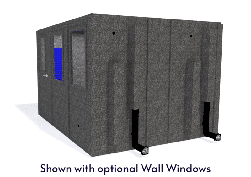 WhisperRoom MDL 102126 S shown with the door closed from the side
