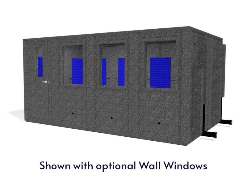 WhisperRoom MDL 102168 E shown with the door closed from the front