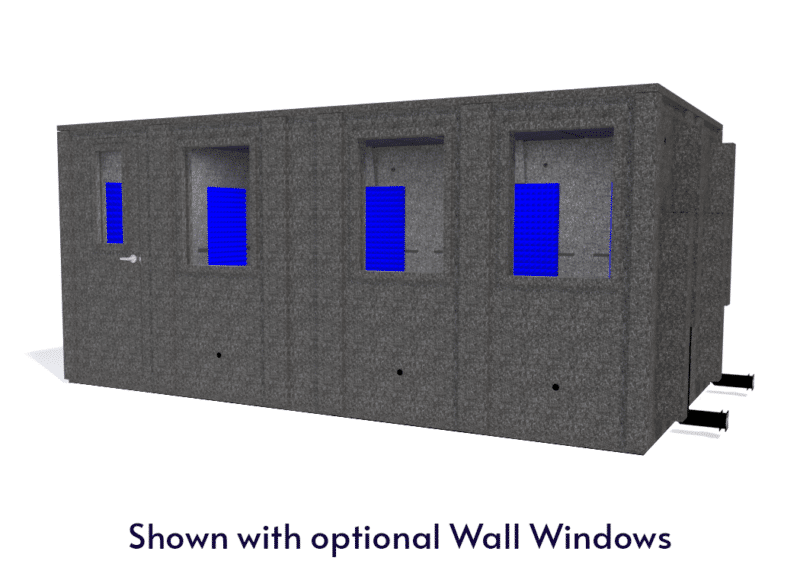 WhisperRoom MDL 102186 E shown with the door closed from the front
