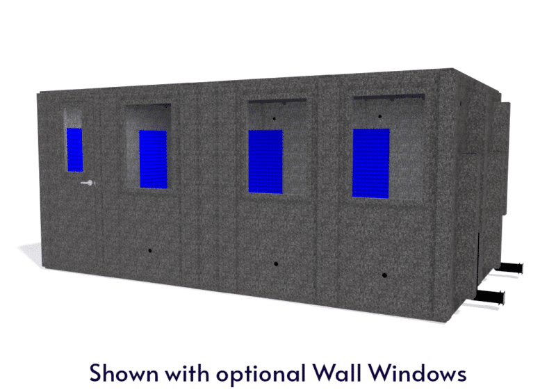 WhisperRoom MDL 102186 S shown with the door closed from the front