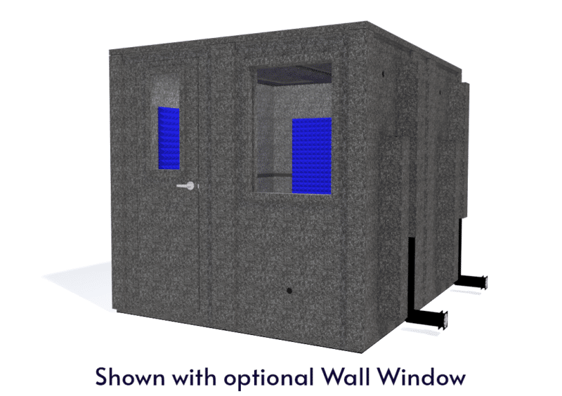 WhisperRoom MDL 10284 E shown with the door closed from the front