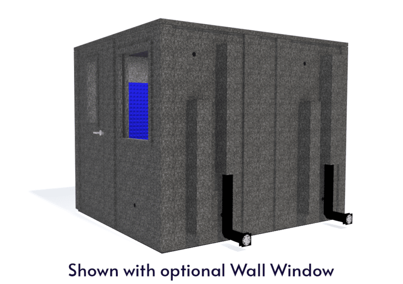 WhisperRoom MDL 10284 E shown with the door closed from the side