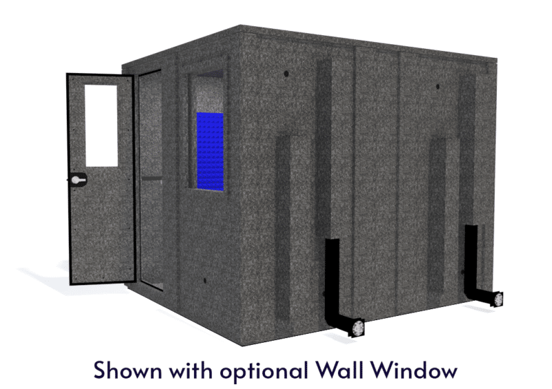 WhisperRoom MDL 10284 E shown with door open from the side