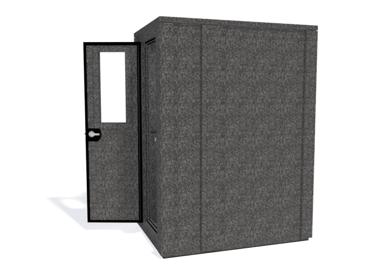 WhisperRoom MDL 4260 E shown with the door open from the side