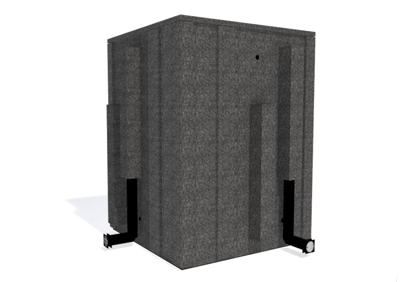 WhisperRoom MDL 6060 E shown from the back