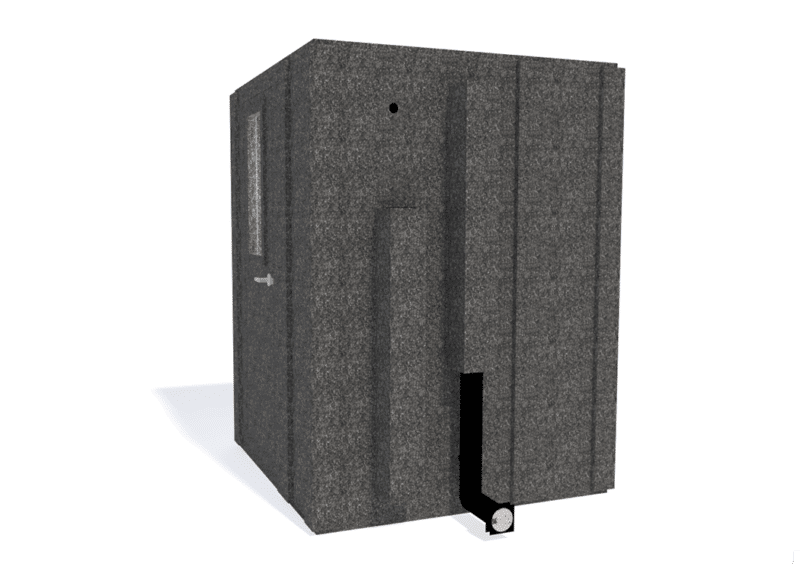 WhisperRoom MDL 6060 S shown with the door closed from the side
