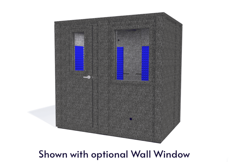 WhisperRoom MDL 6084 E shown with the door closed from the front