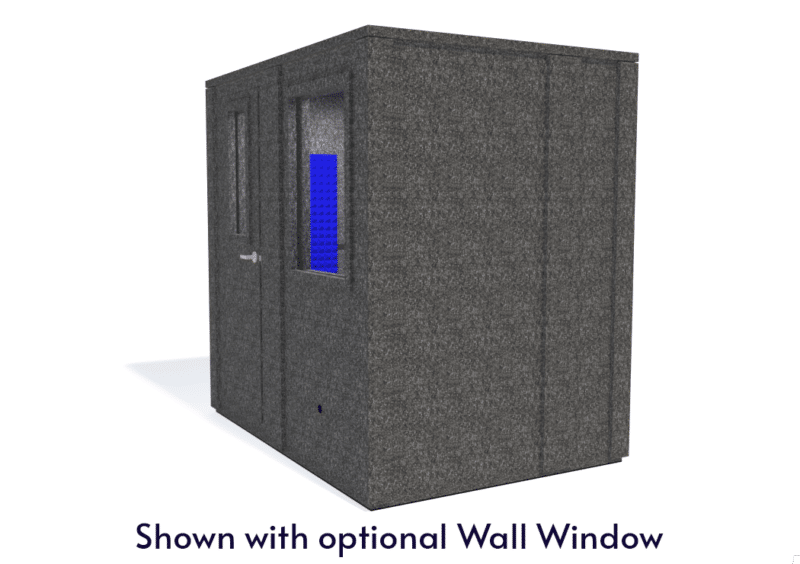 WhisperRoom MDL 6084 E shown with the door closed from the side