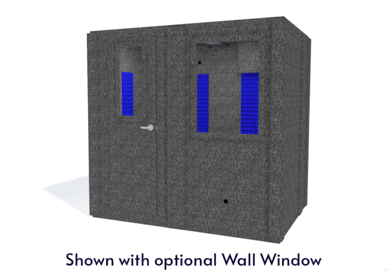 WhisperRoom MDL 6084 S shown with the door closed from the front