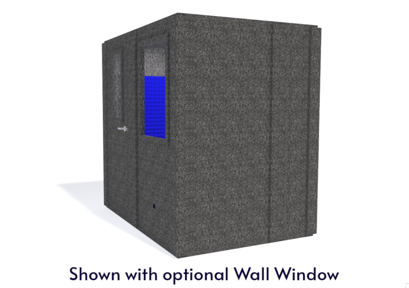 WhisperRoom MDL 6084 S shown with the door closed from the side