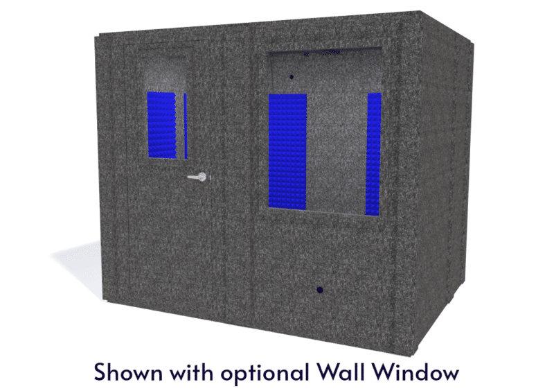 WhisperRoom MDL 7296 S shown with the door closed from the front