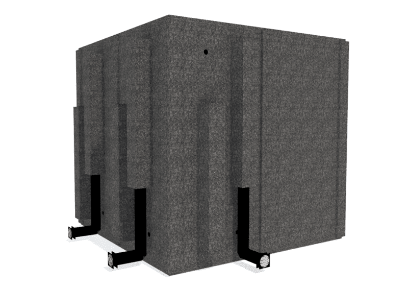 WhisperRoom MDL 8484 S shown from the back