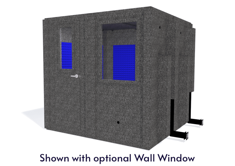 WhisperRoom MDL 8484 S shown with the door closed from the front