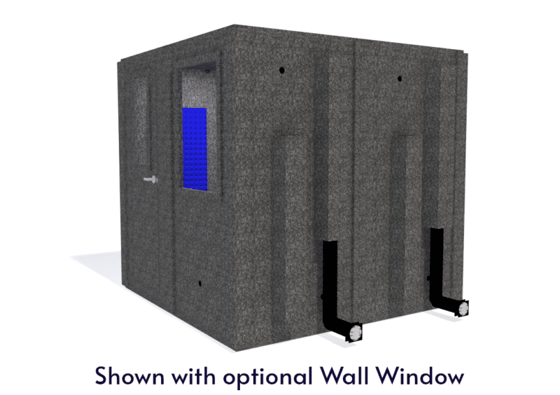 WhisperRoom MDL 8484 S shown with the door closed from the side