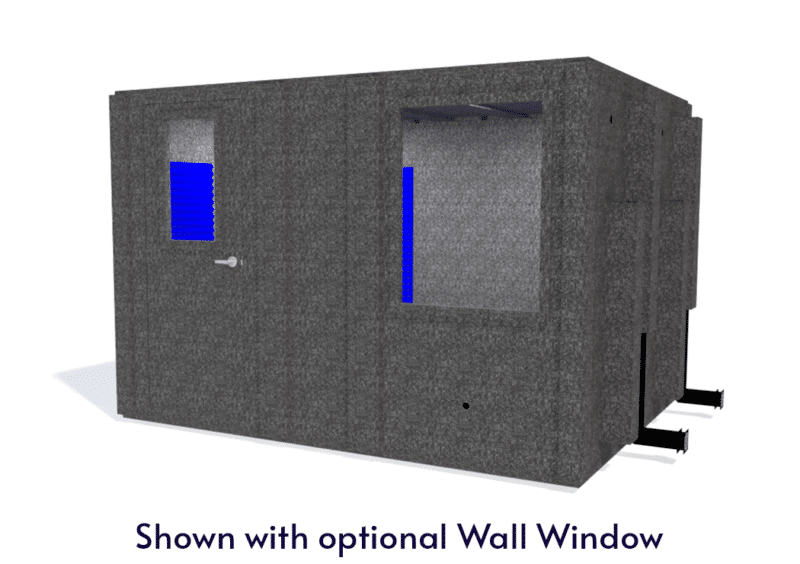 WhisperRoom MDL 96120 S shown with the door closed from the front