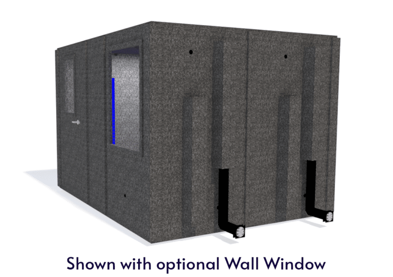 WhisperRoom MDL 96120 S shown with the door closed from the side