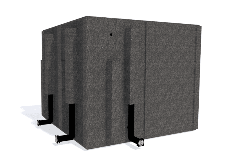 WhisperRoom MDL 9696 S shown from the back