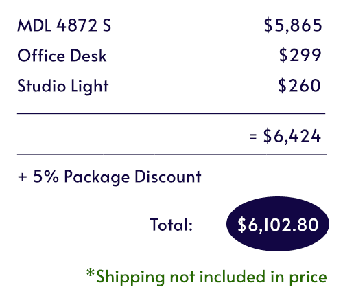 Itemized pricing for the Work From Home Booth