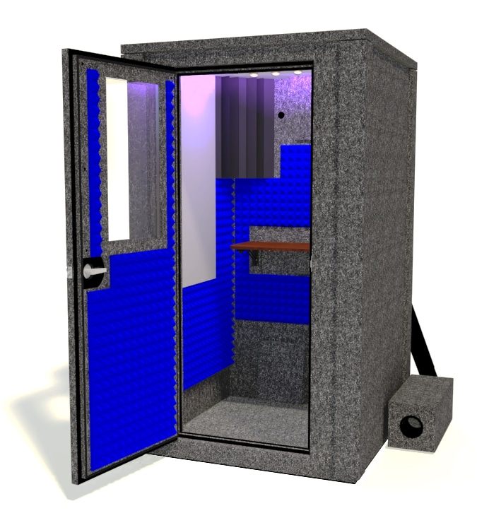WhisperRoom's Voice Over Deluxe Vocal Booth Package